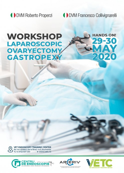 WORKSHOP LAPAROSCOPIC OVARIECTOMY & GASTROPEXY